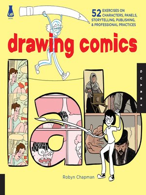 cover image of Drawing Comics Lab