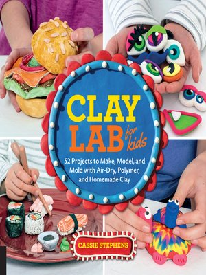 cover image of Clay Lab for Kids