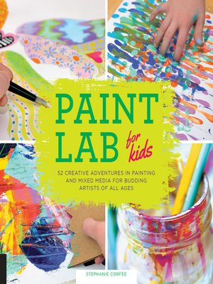 cover image of Paint Lab for Kids