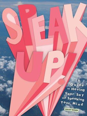 cover image of Speak Up!