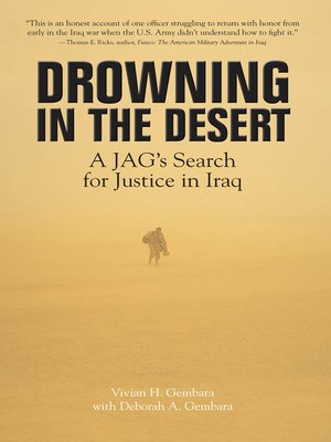 cover image of Drowning in the Desert