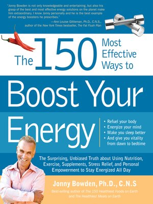 cover image of The 150 Most Effective Ways to Boost Your Energy
