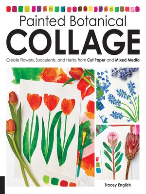 cover image of Painted Botanical Collage
