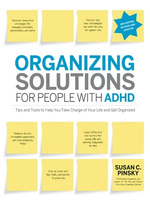 cover image of Organizing Solutions for People with ADHD