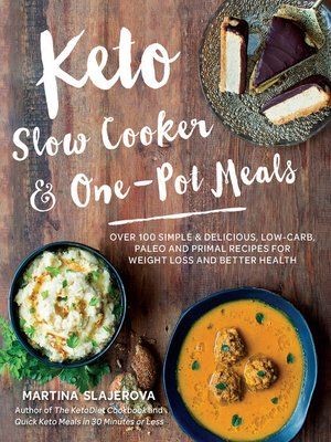 cover image of Keto Slow Cooker & One-Pot Meals