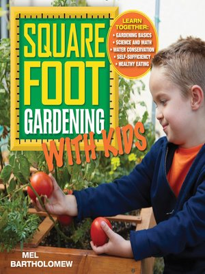 cover image of Square Foot Gardening with Kids