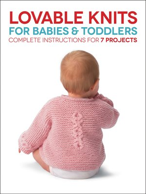 cover image of Lovable Knits for Babies and Toddlers