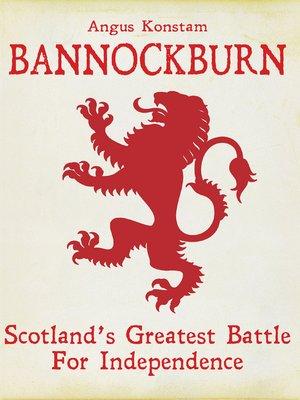 cover image of Bannockburn