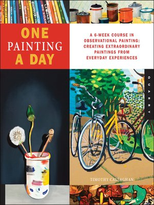 cover image of One Painting A Day