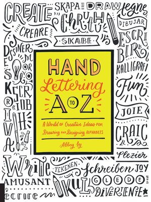 cover image of Hand Lettering A to Z