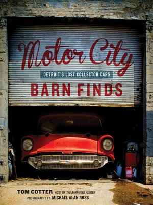 cover image of Motor City Barn Finds