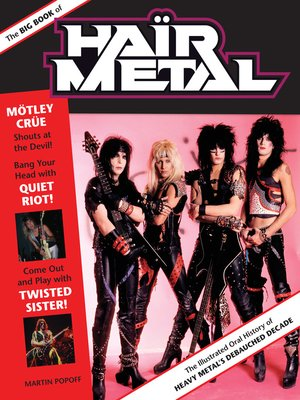 cover image of The Big Book of Hair Metal