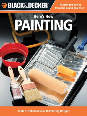 cover image of Black & Decker Here's How...Painting