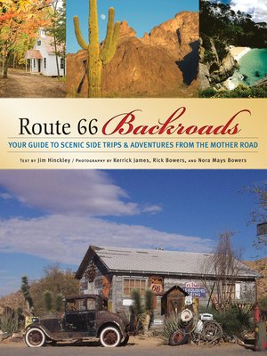 cover image of Route 66 Backroads
