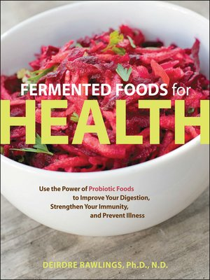 cover image of Fermented Foods for Health
