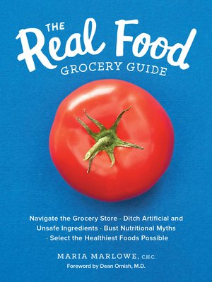 cover image of The Real Food Grocery Guide