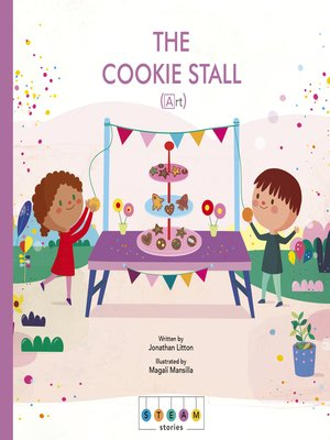 cover image of STEAM Stories: The Cookie Stall (Art)