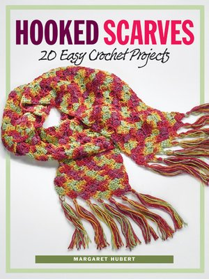 cover image of Hooked Scarves