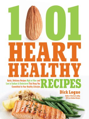 cover image of 1,001 Heart Healthy Recipes