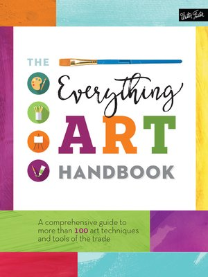 cover image of The Everything Art Handbook