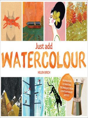 cover image of Just Add Watercolour