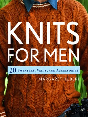 cover image of Knits for Men