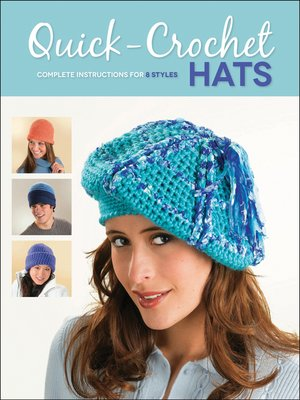cover image of Quick-Crochet Hats