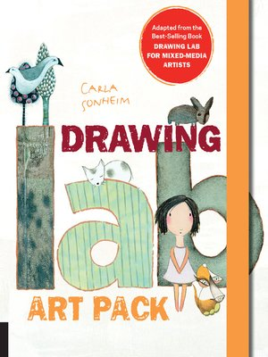 cover image of Drawing Lab for Mixed-Media Artists