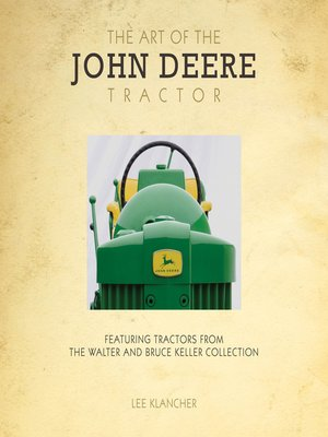 cover image of The Art of the John Deere Tractor