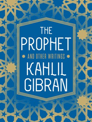 cover image of The Prophet and Other Writings