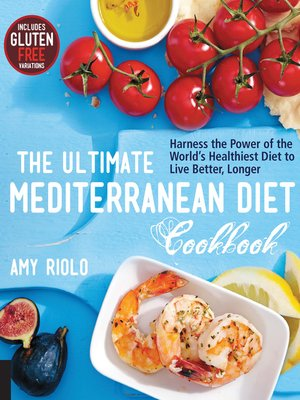 cover image of The Ultimate Mediterranean Diet Cookbook