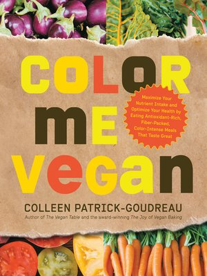 cover image of Color Me Vegan