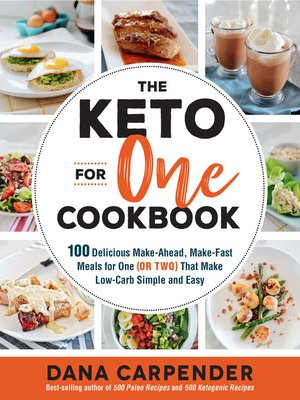 cover image of The Keto For One Cookbook