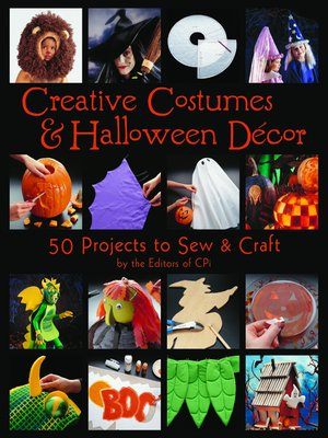 cover image of Creative Costumes & Halloween Decor