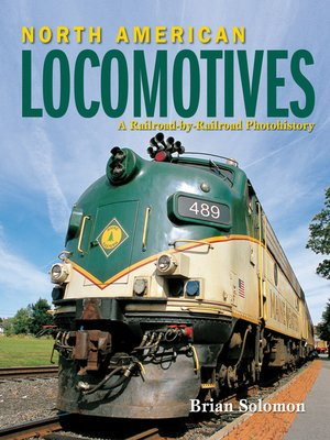 cover image of North American Locomotives
