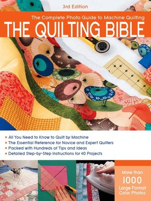 cover image of The Quilting Bible