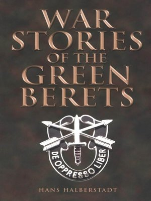 cover image of War Stories of the Green Berets