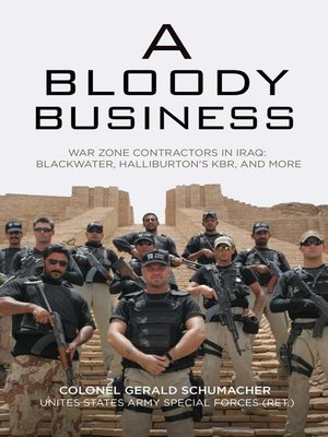 cover image of A Bloody Business