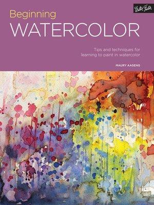 cover image of Portfolio: Beginning Watercolor