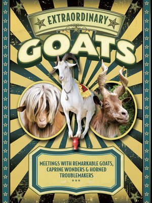 cover image of Extraordinary Goats