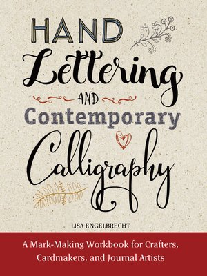 cover image of Modern Calligraphy and Hand Lettering