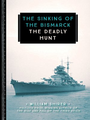 cover image of The Sinking of the Bismarck