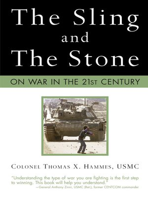 cover image of The Sling and the Stone