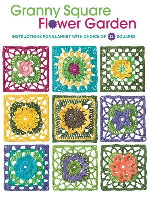 cover image of Granny Square Flower Garden