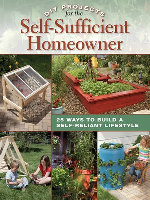 cover image of DIY Projects for the Self-Sufficient Homeowner