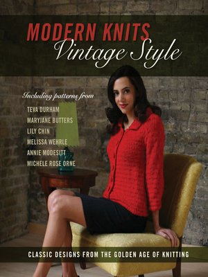 cover image of Modern Knits, Vintage Style
