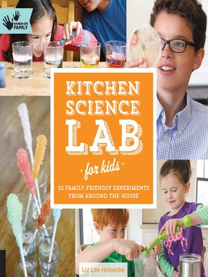cover image of Kitchen Science Lab for Kids