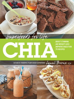 cover image of Superfoods for Life, Chia
