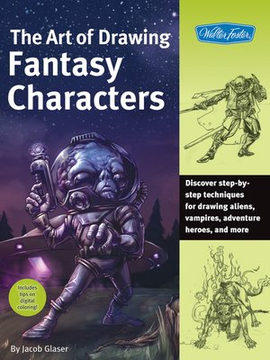 cover image of The Art of Drawing Fantasy Characters