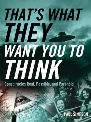 cover image of That's What They Want You to Think